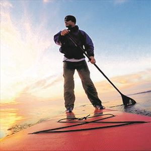 Stand Up Paddle Boarder on Lake Huron