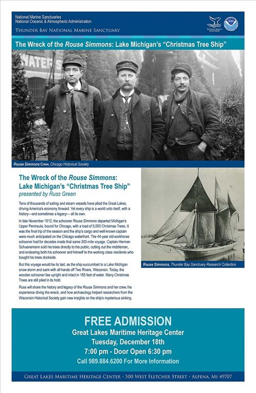 Sanctuary Lecture Series The Wreck Of The Rouse Simmons Lake