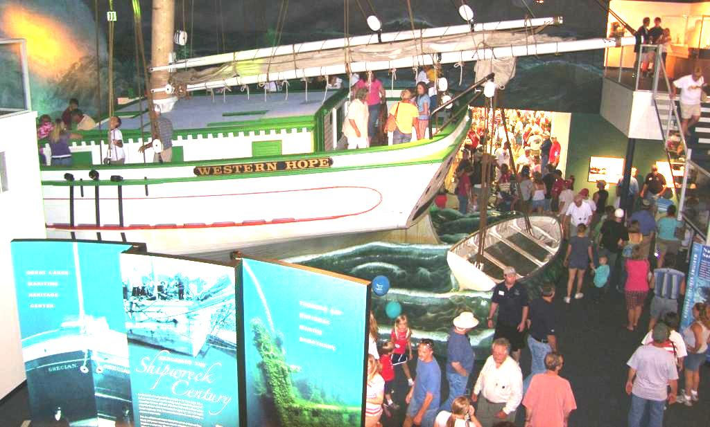 Shipwreck Century Exhibit
