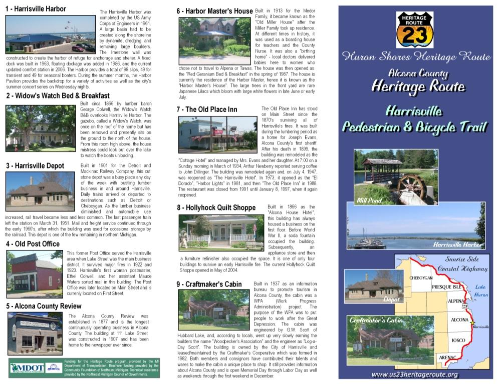 Harrisville Trail Brochure