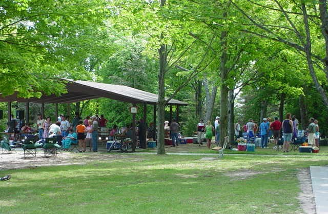Picnic Shelter at Harrisville State Park