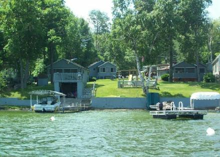 West wind cottages for Hubbard lake mi fishing